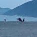 「土曜日は 人出を避けて 浜の釣り」 和歌山県 煙樹ヶ浜の鯵釣り
